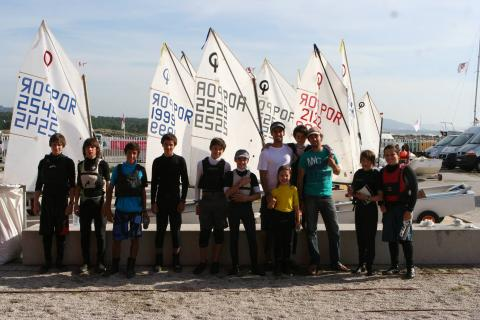 equipa, sport, optimist, vela, portugal